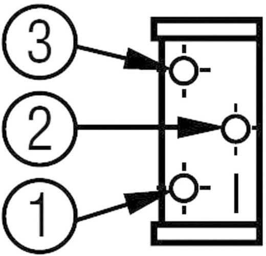Álló trimmer potméter, felül állítható, 500 kΩ 0,5 W ± 10 % THT 3296, Bourns 3296Y-1-504LF