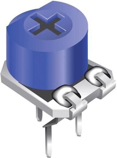 Miniatűr trimmer potméter, lineáris, fekvő, felül állítható, 0,2 W 100 kΩ 260° Bourns 3306P-1-104