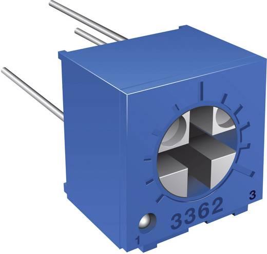 Miniatűr trimmer potméter, lineáris, fekvő, 0,5 W 100 kΩ 270° Bourns 3362P-1-104LF
