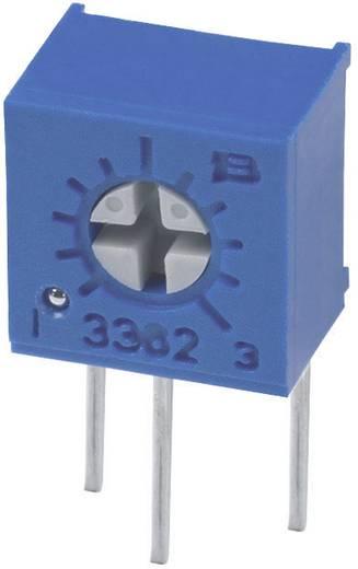 Miniatűr lineáris trimmer potméter, álló kivitelű, oldalsó állítással 0.5 W 1 kΩ 270 ° Bourns 3362W-1-102LF