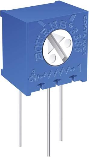 Miniatűr trimmer potméter, lineáris, álló, oldalt állítható, 0,5 W 2 kΩ 310° Bourns 3386X-1-202LF