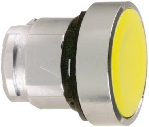 Nyomógomb, lapos, sárga, Schneider Electric Harmony ZB4BA5