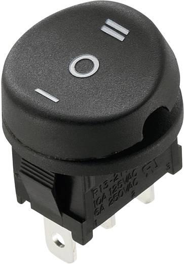 Billenőkapcsoló 10 A, 250 V/AC, 3 x be/ki/be, SCI R13-211D-02