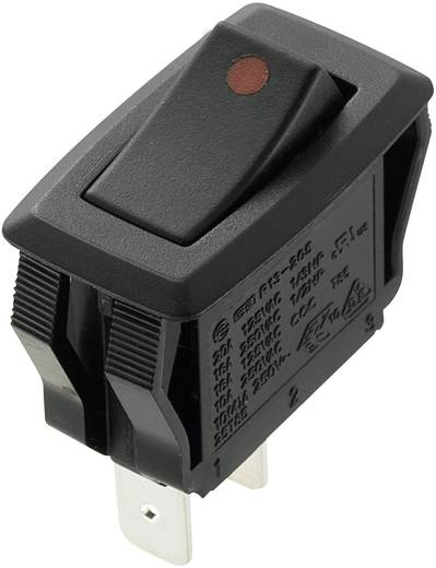Billenőkapcsoló 16 A, 250 V/AC, 2 x ki/be, SCI R13-205A2-01