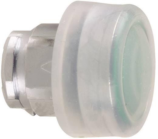 Nyomógomb, lapos, átlátszó/zöld, Schneider Electric Harmony ZB4BP3