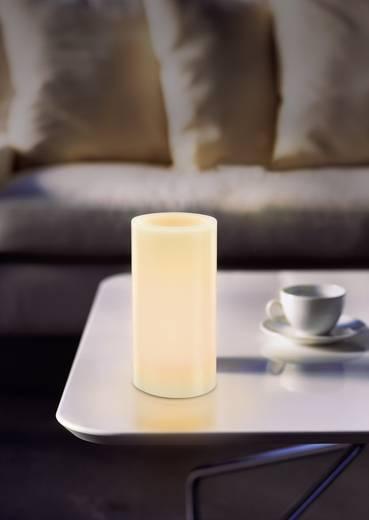 LED-es mécses, LED-es gyertya, sárga színű 75x150mm