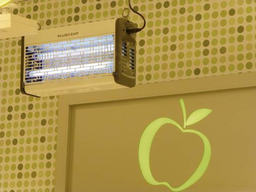 Plus ZAP UV rovarfogó 80 W, fehér Rovarelűző és rovarfogó Pluszap 80 W Insect-o-cutor PZ8