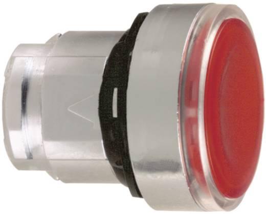 Világító nyomógomb, lapos, piros, Schneider Electric Harmony ZB4BW343