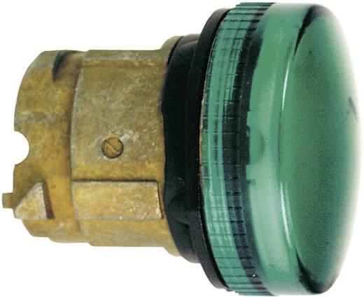 LED-es jelzőlámpa zöld/króm, Schneider Electric Harmony ZB4BV033