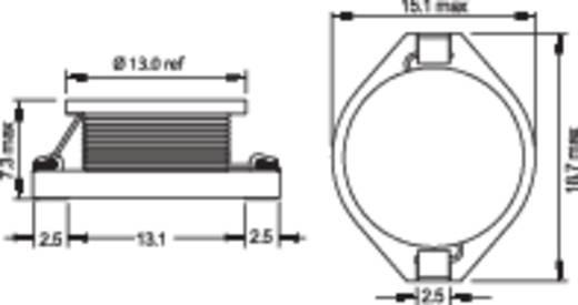 SMD HF induktivitás 22 µH PISR-220M