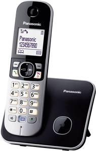 Vezeték nélküli analóg telefon Panasonic KX-TG6811 Kihangosító Fekete, Ezüst (KX-TG6811GB) Panasonic