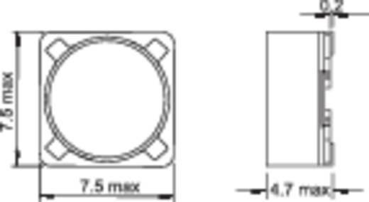 SMD HF induktivitás, árnyékolt, 100 µH PIS2816-101M