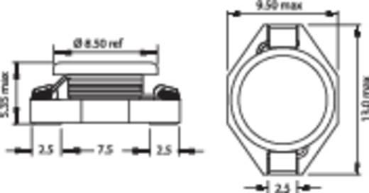 SMD HF induktivitás 100µH PISM-101M