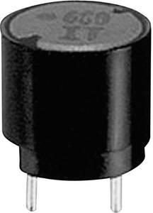 Induktivitás, tokozott, radiális, RM 5 mm 1200 µH 2,400 Ω 0,23 A Panasonic ELC09D122DF (ELC09D122F) Panasonic