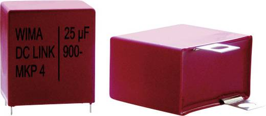 MKP fóliakondenzátor 10 µF 600 V 10 % raszterméret 27.5 mm (H x Sz x Ma) 31.5 x 17 x 29 mm Wima DC-LINK 1 db