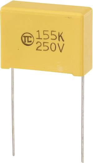 MKS fóliakondenzátor, radiális, álló 1,5 µF 250 V/DC 5 % RM 22,5 mm 26,5 x 10 x 19 mm