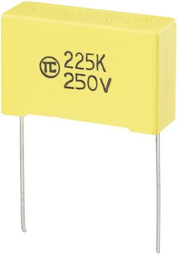 MKS fóliakondenzátor, radiális, álló 2,2 µF 250 V/DC 5 % RM 27,5 mm 32 x 11 x 20 mm