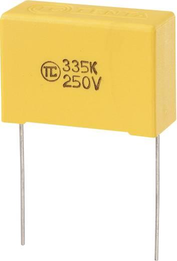 MKS fóliakondenzátor, radiális, álló 3,3 µF 250 V/DC 5 % RM 27,5 mm 32 x 13 x 22 mm