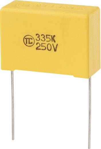 MKS kondenzátor 3,3µF 250VDC RM27,5