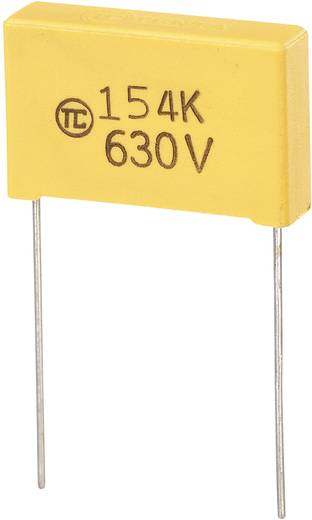 MKS kondenzátor, 0,15µF 630VDC RM22,5