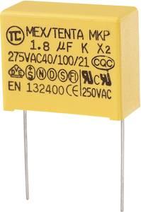 MKP kondenzátor X2, 1,8 µF, 275 V/AC, ±10 %, 32 x 14 x 25 mm, raszter: 27,5 mm (MKP-X2)