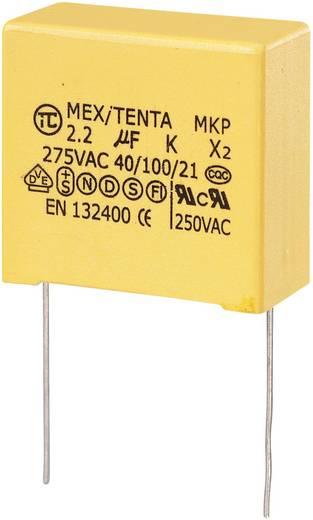 MKP-X2 zavarszűrő kondenzátor, radiális 2,2 µF 275 V/AC 10 % RM 27,5 mm 32 x 18 x 30 mm TRU COMPONENTS MKP-X2
