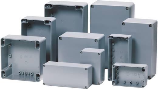 Fibox alumínium ház ALN 060605 U alumínium/rozsdamentes acél (H x Sz x Ma) 66 x 60 x 46 mm, natúr