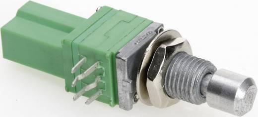 Vezető műanyag potméter, oldalt állítható, 2 menetes, 9 mm 5 kΩ, TT Electronics AB P092P-FC25 B-5 KR