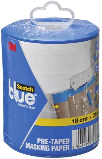 Takaró papír, ScotchBlue™ (H x Sz) 25 m x 0.18 m, barna 2090PD 3M, tartalom: 1 db