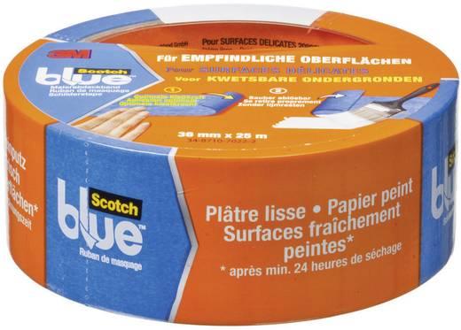 Festő takarószalag, ScotchBlue™ (H x Sz) 25 m x 36 mm, kék 80EU3625 3M, tartalom: 1 tekercs