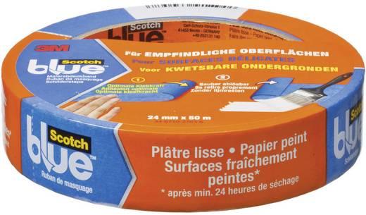 Festő takarószalag, ScotchBlue™ (H x Sz) 50 m x 24 mm, kék 80EU2450 3M, tartalom: 1 tekercs