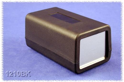 Hammond Electronics műanyag doboz, 1210-es sorozat 1210BK ABS (lángálló) (H x Sz x Ma) 132 x 75 x 62 mm, fekete