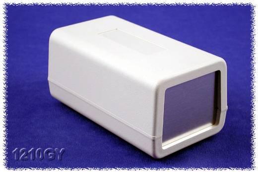Hammond Electronics műanyag doboz, 1210-es sorozat 1210GY ABS (lángálló) (H x Sz x Ma) 132 x 75 x 62 mm, szürke
