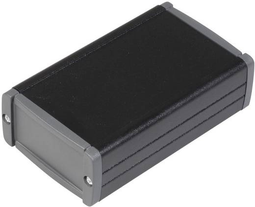 TEKO alumínium műszerdoboz, TEKAL TEKAL 12.29 alumínium (H x Sz x Ma) 100 x 59.9 x 30.9 mm, fekete