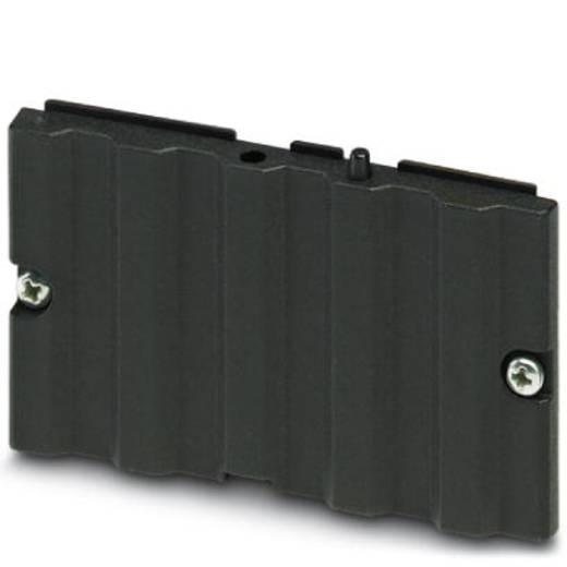Elektronikai doboz építőelem, alumínium, fekete, UM-ALU 4 LID75 PA BK 2200972 Phoenix Contact