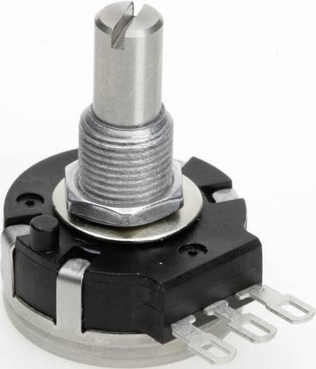 Vezető műanyag potenciométer, oldalt állítható, 24 mm lin 50 kΩ ± 10 %, TT Electronics AB P232-DEC20 B-50 KR