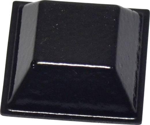 Öntapadós műszerláb, TOOLCRAFT PD2205SW, 20,6 x 20,6 x 7,6 mm, PU, fekete