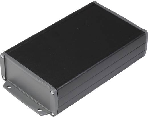 TEKO alumínium műszerdoboz, TEKAL TEKAL 33-E.29 alumínium (H x Sz x Ma) 175 x 105.9 x 45.8 mm, fekete