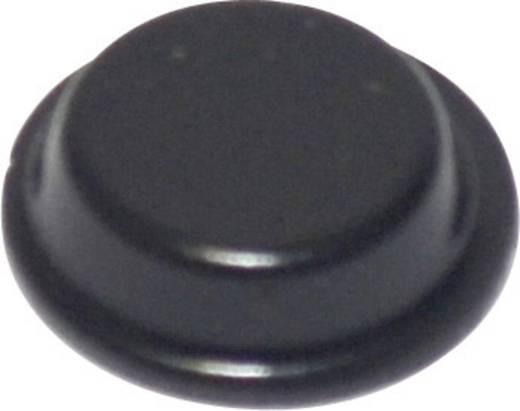TOOLCRAFT Készülékláb, öntapadó PD2125SW (Ø x Ma) 12.7 mm x 3.5 mm PU fekete