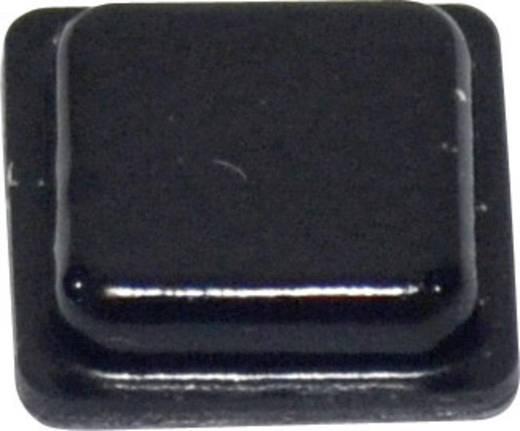 Öntapadós műszerláb, TOOLCRAFT PD2100SW, 10,2 x 10,2 x 2,5 mm, PU, fekete