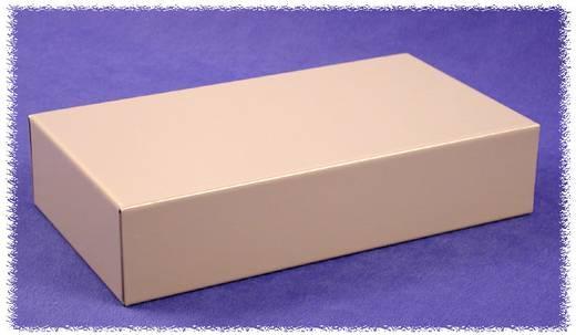 Hammond Electronics acél doboz, 1441-es sorozat 1441-10 acél (H x Sz x Ma) 203 x 102 x 51 mm, szürke