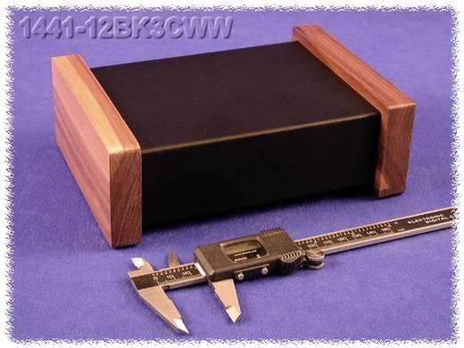 Hammond Electronics acél doboz, 1441-es sorozat 1441-12BK3CWW acél (H x Sz x Ma) 178 x 127 x 51 mm, fekete