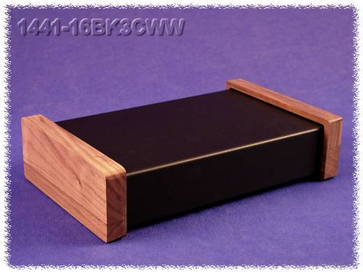 Hammond Electronics acél doboz, 1441-es sorozat 1441-16BK3CWW acél (H x Sz x Ma) 254 x 152 x 51 mm, fekete