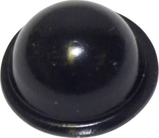 TOOLCRAFT Készülékláb, öntapadó PD2190SW (Ø x Ma) 19 mm x 9.6 mm PU fekete