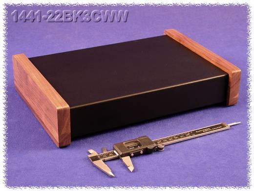 Hammond Electronics acél doboz, 1441-es sorozat 1441-22BK3CWW acél (H x Sz x Ma) 305 x 203 x 51 mm, fekete