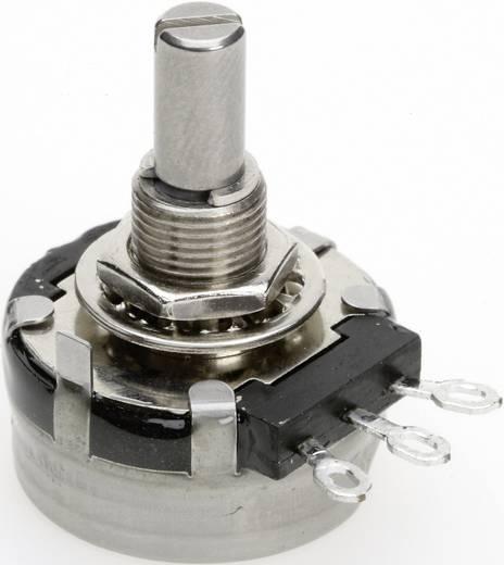 Vezető műanyag potenciométer, oldalt állítható, 27 mm lin 1 kΩ 2 W ± 10 %, TT Electronics AB P270-DS22 B-1 KR