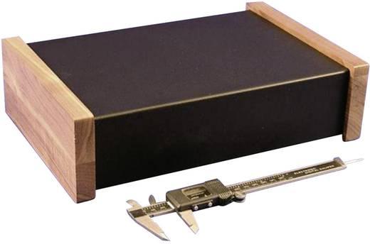 Univerzális műszerdobozok Acél Fekete 305 x 203 x 76 Hammond Electronics 1441-24BK3CWW 1 db