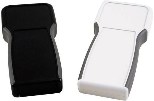 Kézi műszerdoboz ABS fekete 210 x 100 x 32 mm, Hammond Electronics 1553TBKBAT,
