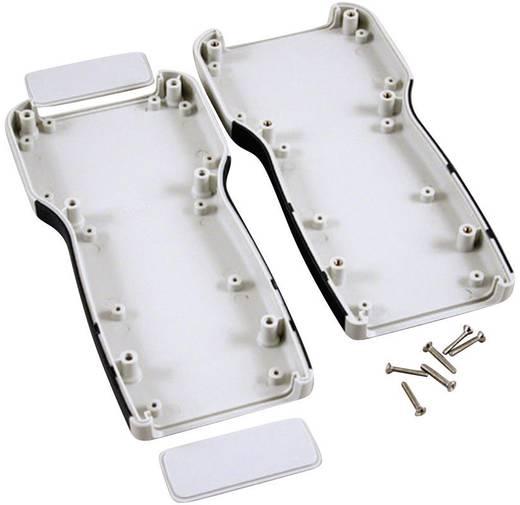 Kézi műszerdoboz ABS, szürke 210 x 100 x 32 Hammond Electronics 1553TGY, 1db