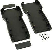 Kézi műszerdoboz ABS fekete 210 x 100 x 32 mm, Hammond Electronics 1553TBK, (1553TBK) Hammond Electronics